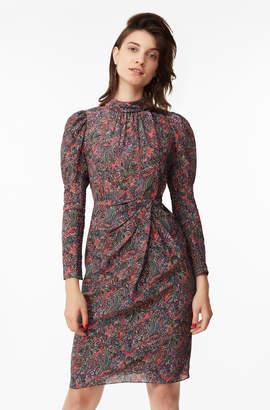Rebecca Taylor Hudson Paisley Silk Dress