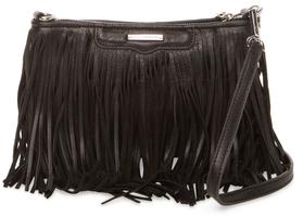 Rebecca MinkoffFinn Fringe Leather Crossbody