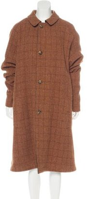 Polo Ralph Lauren Virgin Wool Plaid Coat $245 thestylecure.com
