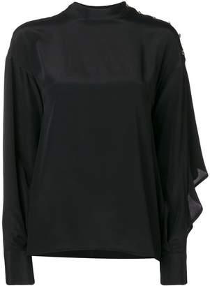 MSGM satin blouse