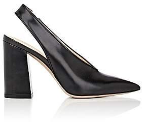 Barneys New York Women's Malto Leather Slingback Pumps-Black