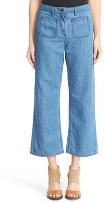 Women's Belstaff Jamila Crop Flare Jeans $325 thestylecure.com