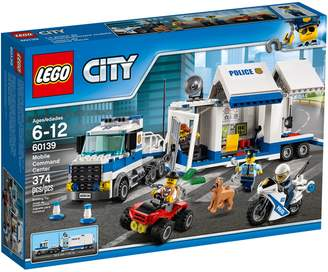 Lego City Police Mobile Command Centre 60139