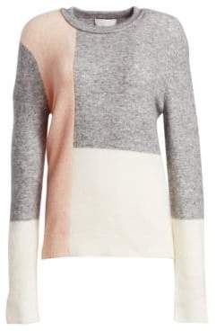 3.1 Phillip Lim Lofty Wool-Blend Color Block Sweater