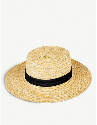 LACK OF COLOR Make Your Own Spencer straw boater hat