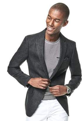 Todd Snyder White Label Sutton Herringbone Unconstructed Linen Sport coat in Charcoal