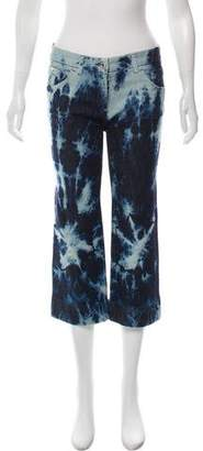 Dolce & Gabbana Tie-Dye Mid-Rise Jeans