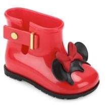 Mini Melissa Toddler's & Girl's Sugar Rain Disney Twins Boots