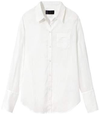 Nili Lotan Cotton Voile NL Shirt