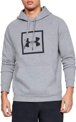 Under Armour Rival Logo Cotton-Blend Fleece Hoodie