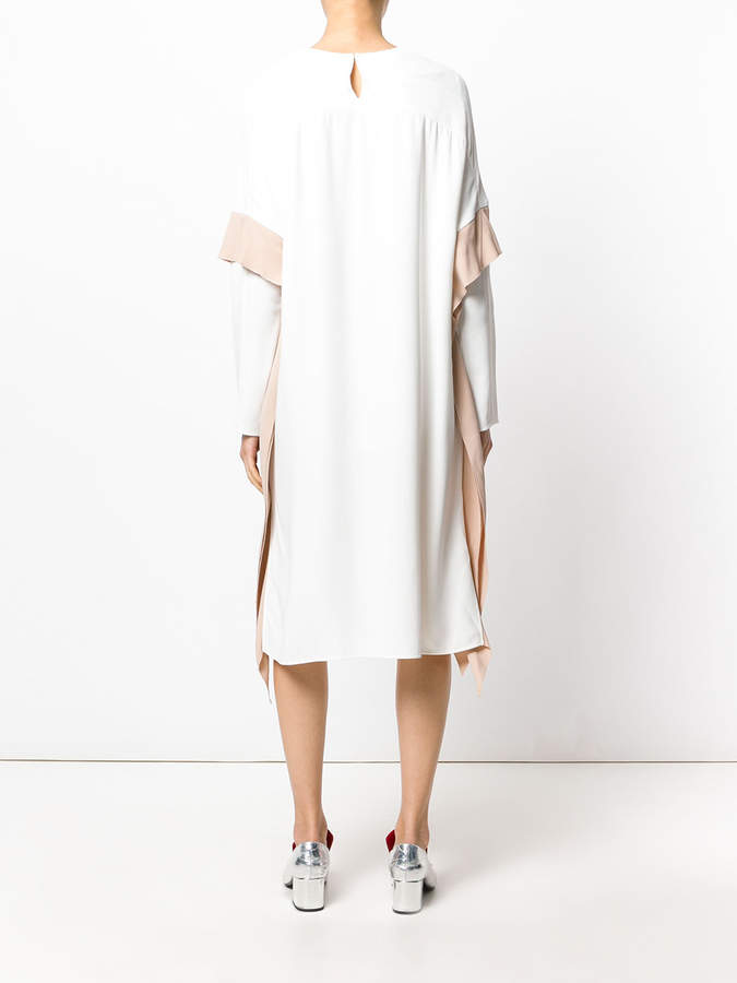 Agnona double sleeve dress