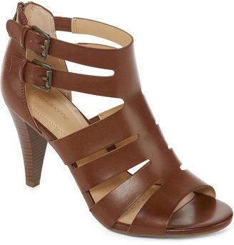 LIZ CLAIBORNE Liz Claiborne Gavi Womens Heeled Sandal $60 thestylecure.com