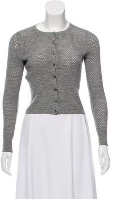 Marc Jacobs Virgin Wool Cropped Cardigan