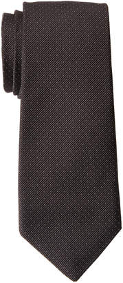 American Designer Black Microdot Silk Tie