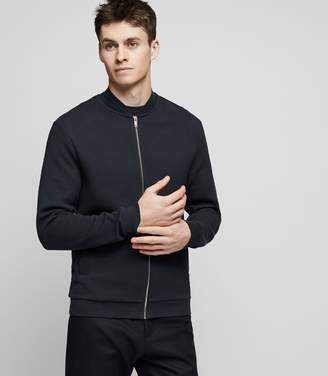 Reiss KEM Quilted bomber jacket