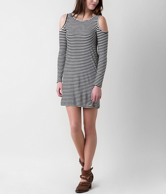 Fire Cold Shoulder Dress $29.95 thestylecure.com
