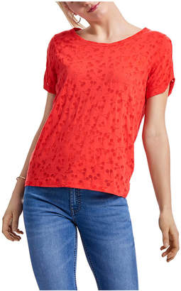 Only Onlperry Short Sleeve Burnout Top Box