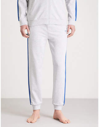 BOSS Authentic cotton-jersey jogging bottoms