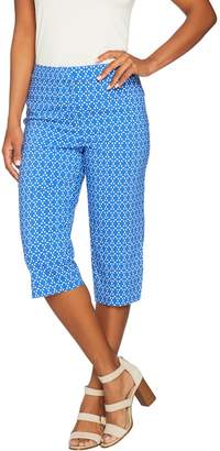 Susan Graver Printed Uptown Stretch Pedal Pusher