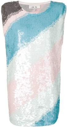 Circus Hotel sequin embellished dress