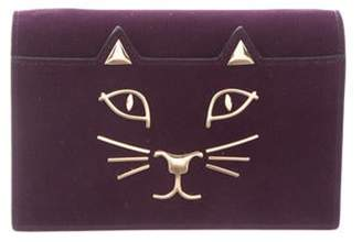 Charlotte Olympia Purple Clutch Purple Purple Clutch