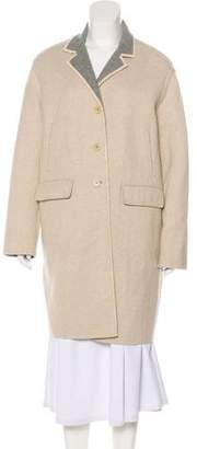 Loro Piana Cashmere Knee-Length Coat
