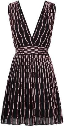 M Missoni Vertical Wave Mini Dress
