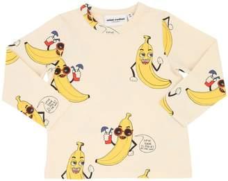 b27b34343 Mini Rodini Banana Print Organic Cotton T-shirt