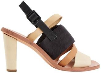 OSKLEN Camel Leather Heels