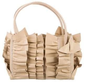 Oscar de la Renta Berkeley Ruffle Bag