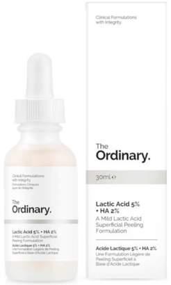 The Ordinary NEW Lactic Acid 5% + HA 2% 30ml Womens Skin Care