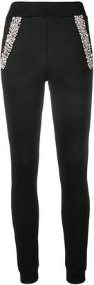 Philipp Plein embellished skinny trousers