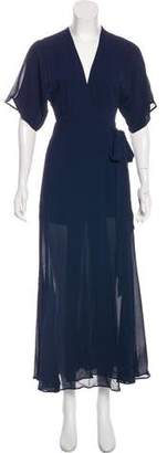 Reformation Maxi Wrap Dress w/ Tags