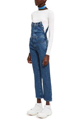 Diesel Red Tag By Glenn Martens Side Snap High-Waist Straight Jeans