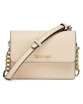 Calvin Klein Hayden Belt Bag Saffiano Light Sand