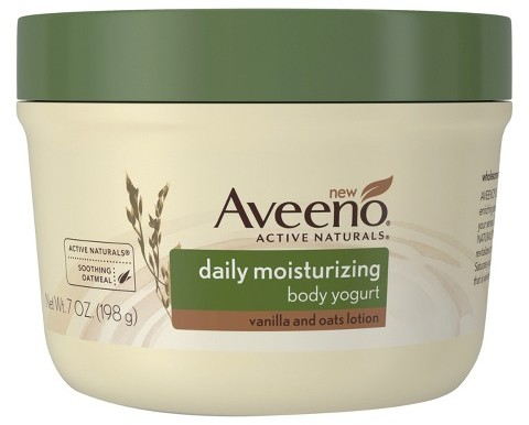 Aveeno® Daily Moisturizing Body Yogurt Lotion Vanilla and Oat 7 oz Image