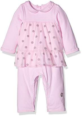 3 Pommes Baby Girls 0-24m Pink Dress,(Manufacturer Size:0/1 Month)