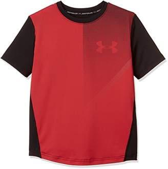 Under Armour (アンダー アーマー) - (アンダーアーマー)UNDER ARMOUR レイドTシャツ(トレーニング/Tシャツ/BOYS)[1306062] RED/RED/BLK YSM