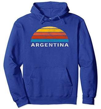 Argentina Retro Sunset Hoodie