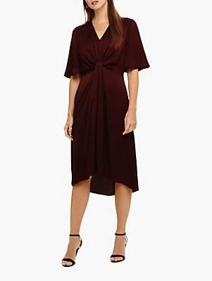 Phase Eight Rosina Fluted Knot Midi Dress
