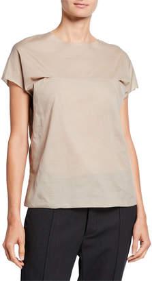 Marni Short-Sleeve Cotton Top