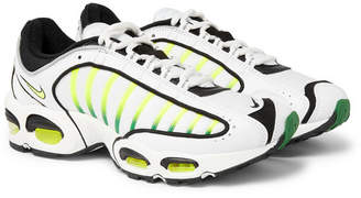 Nike Air Max Tailwind Iv Mesh And Leather Sneakers - White