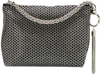 Jimmy Choo Callie diamond motif crystal hotfix clutch
