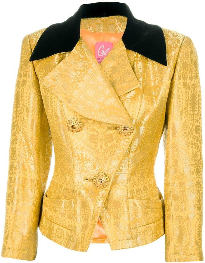 Christian Lacroix Vintage patterned skirt suit