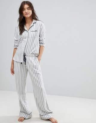Abercrombie & Fitch Stripe Pajama Bottoms