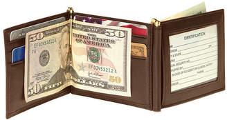 Royce New York Men Double Money Clip Wallet