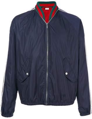 Gucci windbreaker bomber jacket