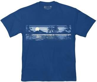 Newport Blue Big & Tall Tropical Graphic Tee