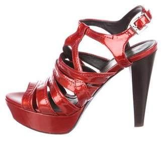Donald J Pliner Cleva Patent Leather Sandals