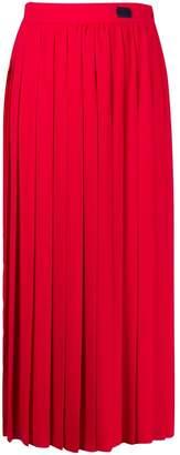Blumarine Be High Waisted Pleated Skirt